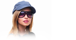 cap and glasses