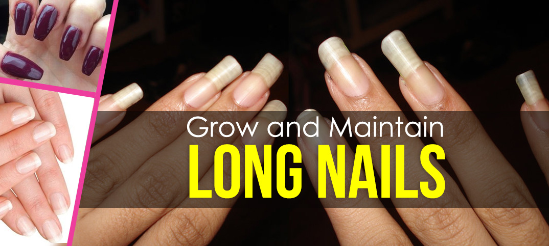 maintain long nails
