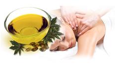 massage with mustard oil