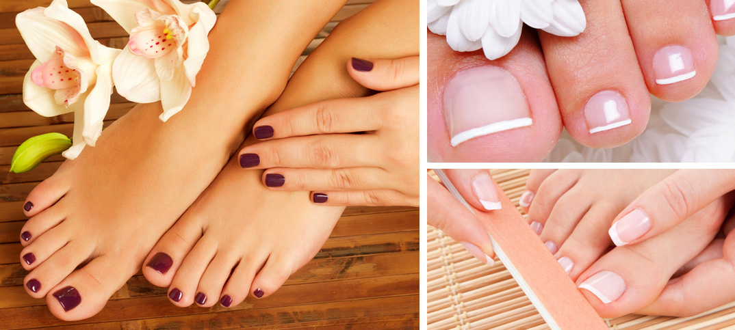 pedicure natural way