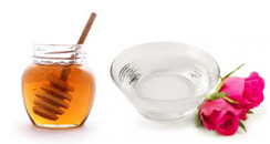 rose honey water