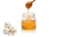 garlic and honey paste