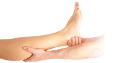 leg massage cures legs pain