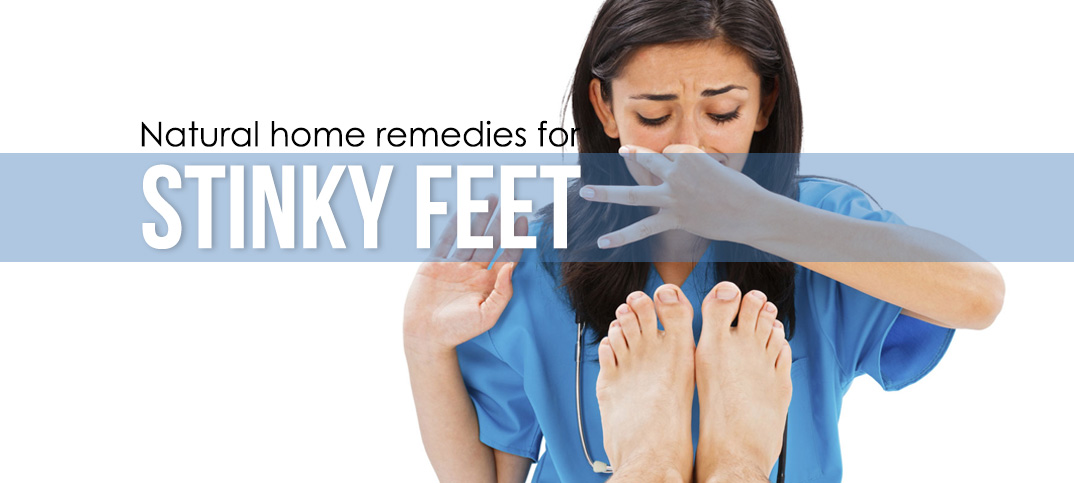 natural home remedies for stinky feet