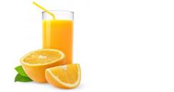 turmeric powder with orange juice