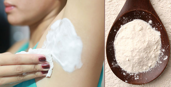 underarm whitening with baking soda