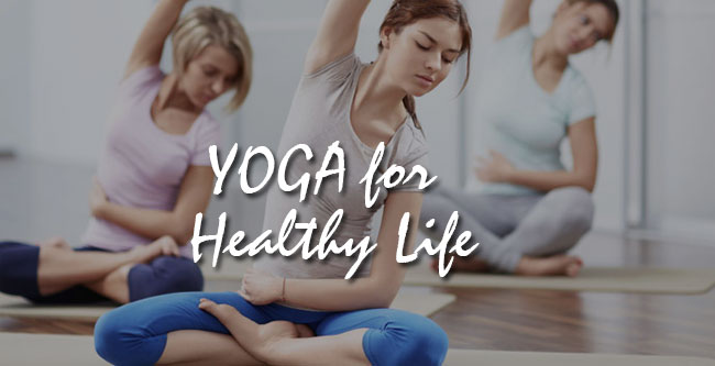 yoga for healthy life