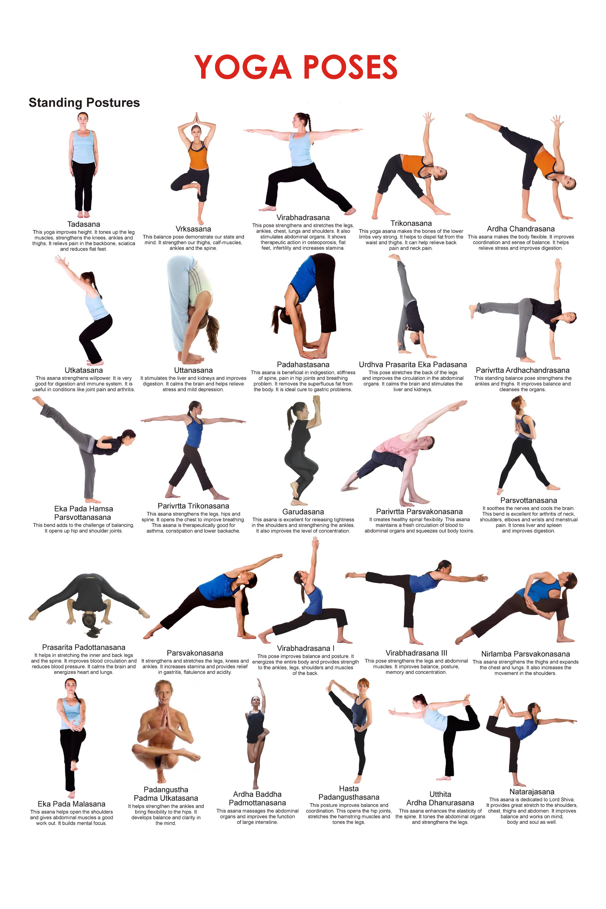 Yoga Poses And Names For Kids Benefits of Yoga: Amaz...