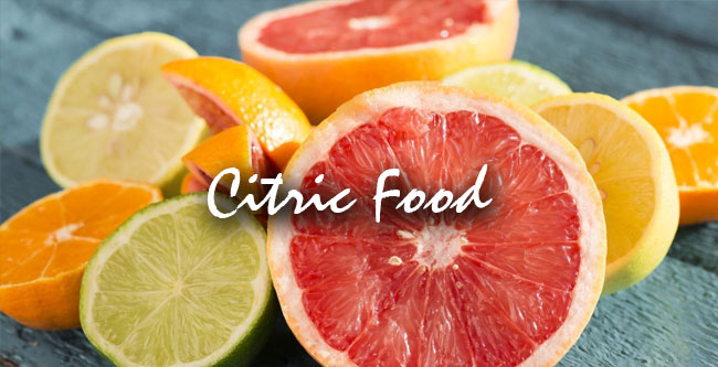 citric food weight loss
