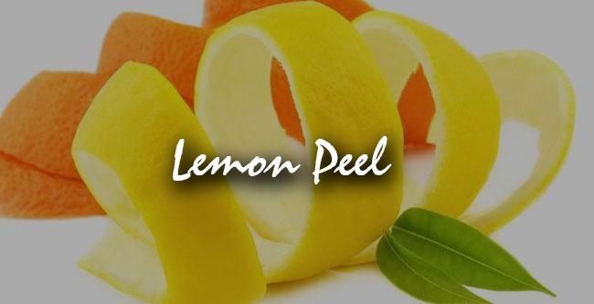 lemon peel for weight loss