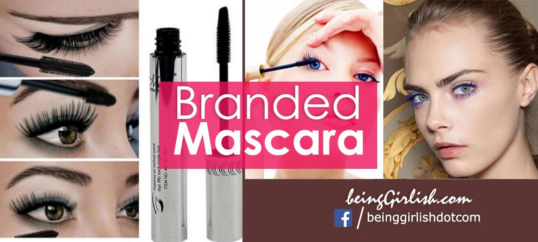 branded mascara