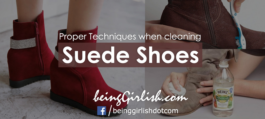 cleaning suede shoes home remedies