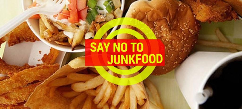 say no to junkfood weight loss