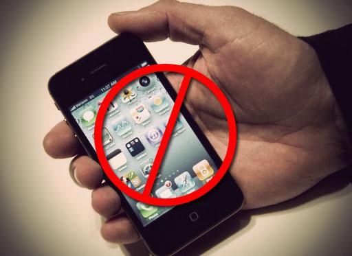 turn off electronics device