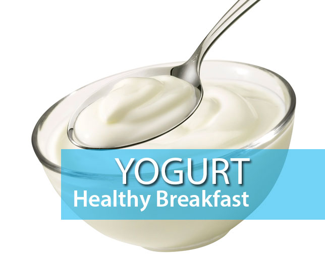 yogurt healthy breakfast