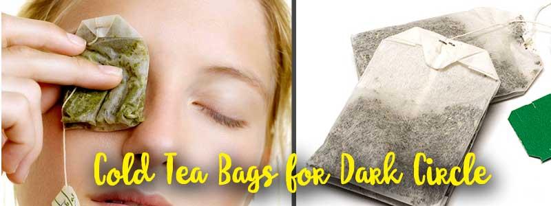 Cold Tea Bags for Dark Circle