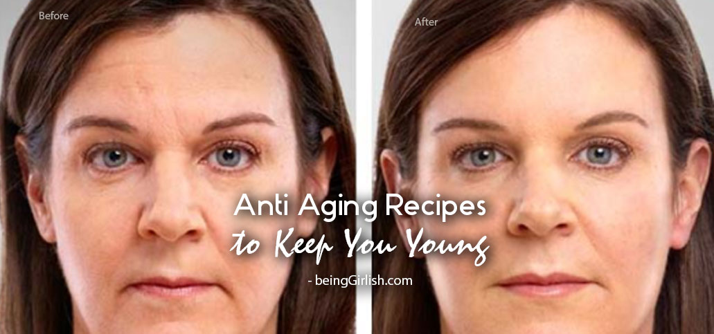 anti aging recipes skin