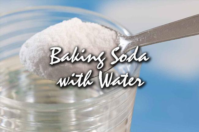 water baking soda for hair benefits