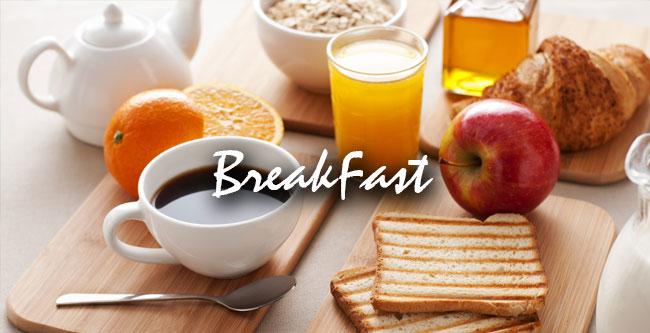 breakfast low calaries