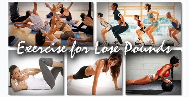 exercise for lose pounds