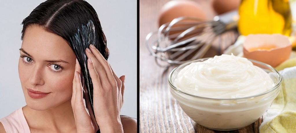 Egg and Yogurt Hair Mask