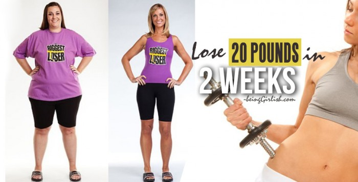 lose 20 pounds in two weeks
