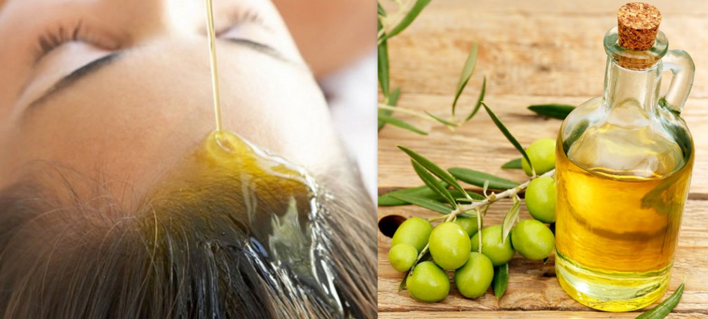 olive oil hair mask for damaged hair