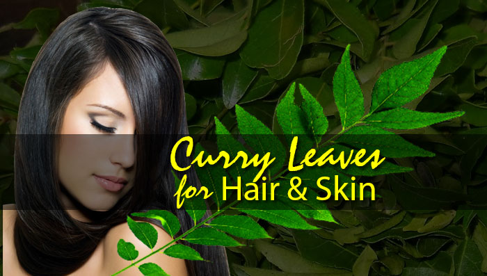 curry leaves benefits for hair and skin