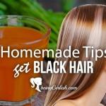 homemade natural tips for black hair