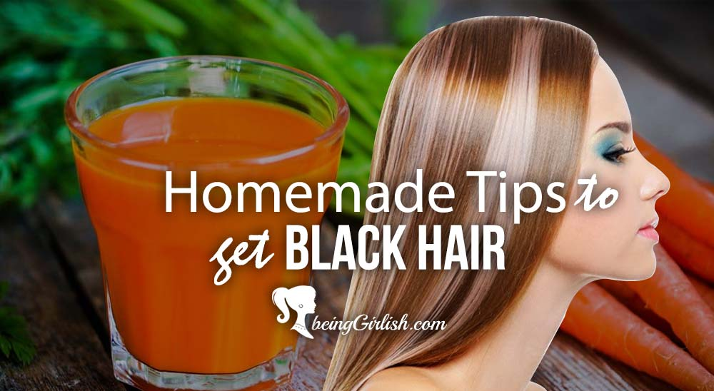 homemade natural tips for black hair