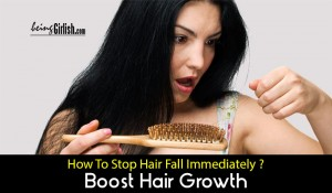 how to stop hair fall naturally at home