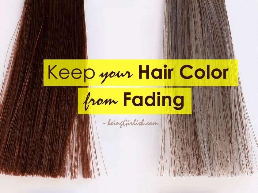 keep your hair color from fading
