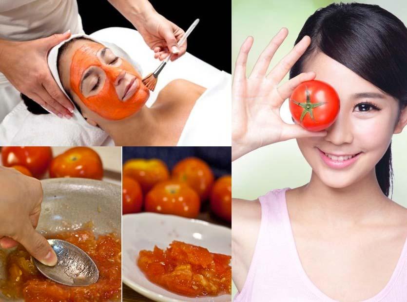 tomato face mask