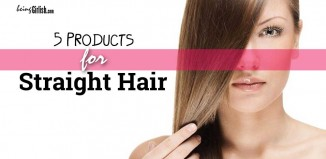 straight hair products