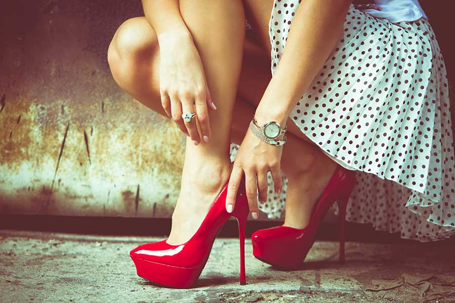 heels night out