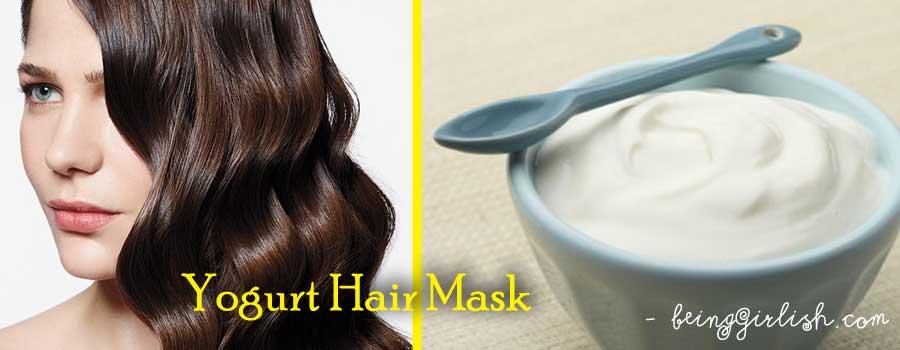 yogurt hair mask