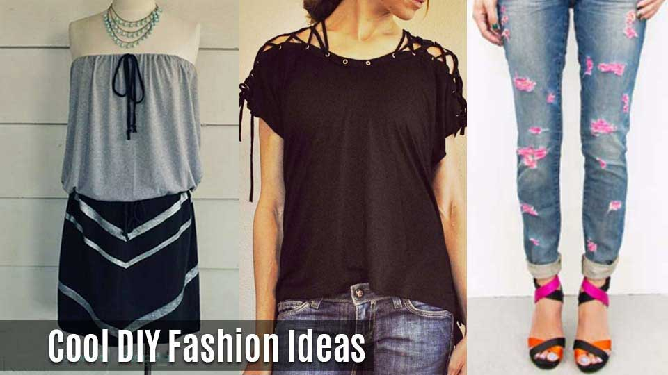 diy fashion clothing ideas