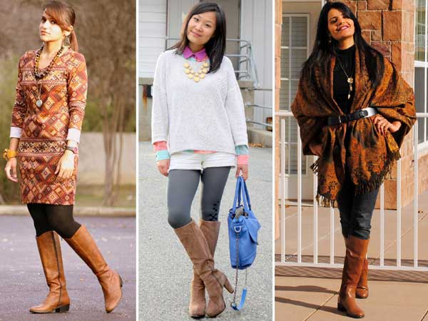 Knee Length Boots India