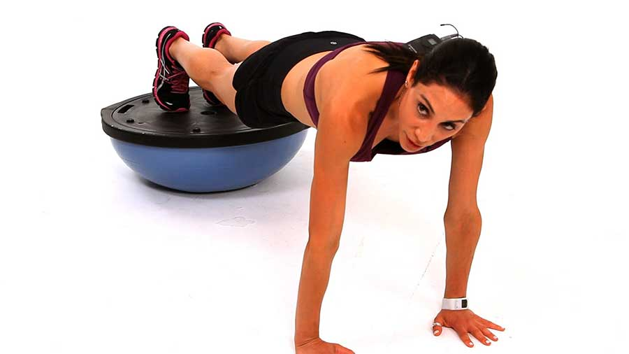 the bosu ball exercise