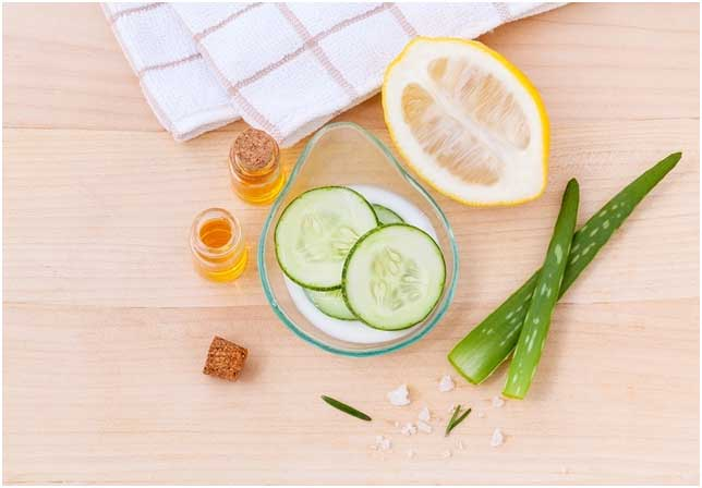 homemade skin scrub