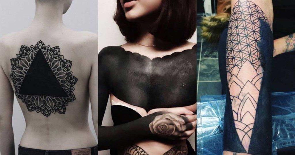 black work tattoos designs