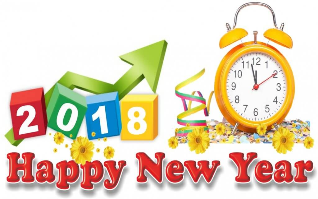 Happy new year - 2018